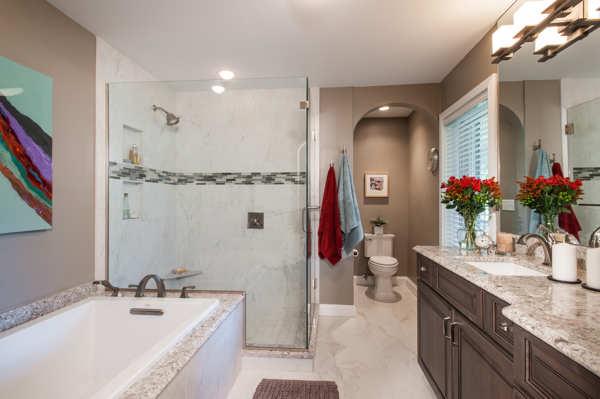 St. Louis Bathroom Remodel by Liston Design Build