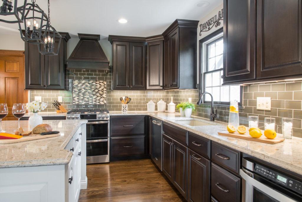 kitchen cabinets after kitchen remodel